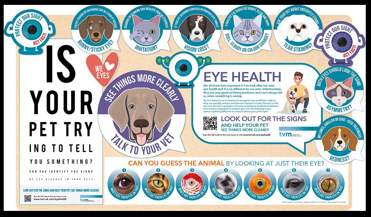 National Pet Eye Health Awareness Week Board Kit